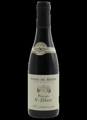 Prieurs de St-Julien Côtes-du-Rhône rouge half flesje (0,375 liter)
