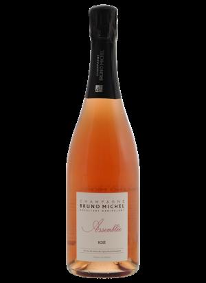 Champagne Bruno Michel Assemblée rosé BIO