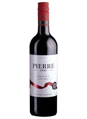 Pierre Zero Merlot Alcoholvrije wijn