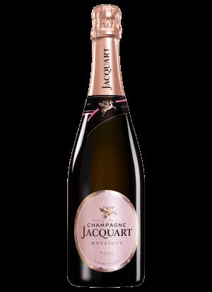 Champagne Jacquart rosé brut