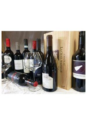 Rood of wit wijnpakket 12 flessen van uw smaak